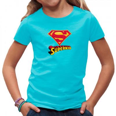 T-Shirt Superkid  Kult Shirt  Motivgröße:  20x20cm