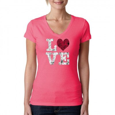 Love Shirt  Zeigt eure Liebe mit diesem tollen T-Shirt - Druck.   Motivgröße : 25x28cm