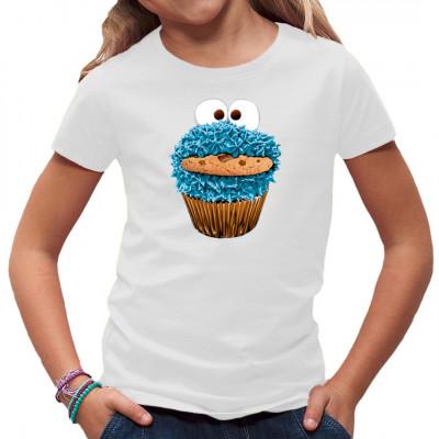 Selbst das Krümelmonster leidet unter der Konjunktur. Um sich weiterhin seine Kekse leisten zu können, wohnt es jetzt in einer leeren Muffin-Form. Tolles Motiv für Kinder und junggebliebene Fans der Sesamstraße   Motivgröße: ca: 22x18cm