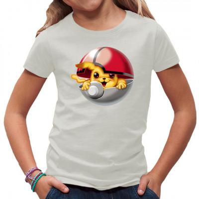 Auch das wohl bekannteste Pokemon, das Pikachu, kann in einem Pokeball gefangen werden. Bist Du bereit, es zu trainieren? Wirst Du es zu einem Raichu aufsteigen lassen? Oder findest du das Motiv einfach nur irgendwie süß?