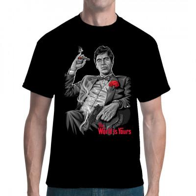 Mafia Kultfilm Shirt für Fans klassischer Gangster-Geschichten
