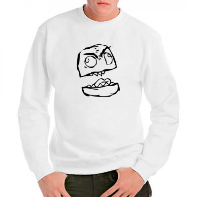 """Der """"Canadian Rage"""" Meme als T-Shirt - Motiv."""