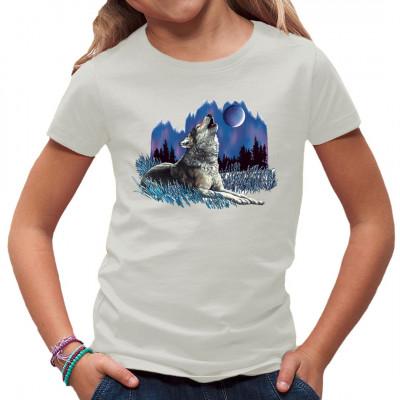 Heulender Wolf, Tiere, Europa - Wildlife, Sonstige, Tiere & Natur, Wölfe, Tiere & Natur