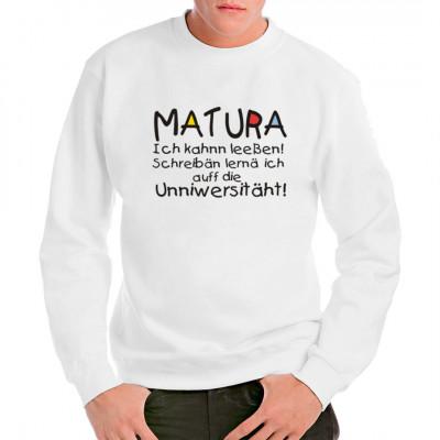 Matura - Ich kann lesen, Sonstige, Sprüche, Lustig & Fun, Abi - Abschluss