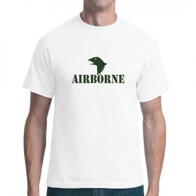 Airborne Logo Grün, Bundewehr / Army, ALLE MOTIVE, Army/Marine, Army/Military