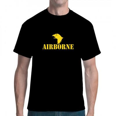 Airborne Logo Gelb, Bundewehr / Army, Army/Marine, Army/Military