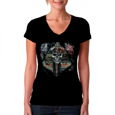 Gruseliges Motiv aus der Alchemy Serie für dein Shirt. In vielen Größen verfügbar.