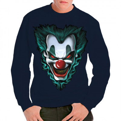 Freakshow Joker (Oversize), X - XXL Motive, Männer & Frauen, Totenköpfe & Gothic, Biker, Biker
