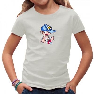 T-Shirt Motiv: Schnuller Punk Kindermotiv mit kleinem Nachwuchspunker.