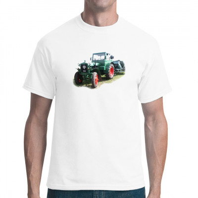 Motiv: Traktor IFA Pionier RS01, Sonstige, Fahrzeuge, Trecker / Traktor, Männer & Frauen, Ostalgie, Traktoren