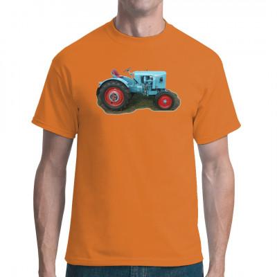 T-Shirt Motiv: Traktor Eicher