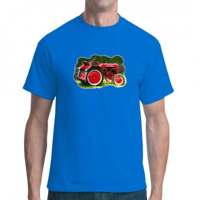 Motiv: McCormick Traktor Oldtimer  Der ideale Aufdruck für dein T-Shirt, Sweatshirt oder V-Neck. In vielen Farben und Größen verfügbar