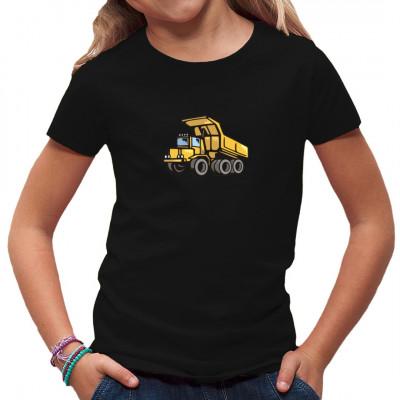 Comic-Motiv: Kipper, Fahrzeuge, Kinder, Nutzfahrzeuge