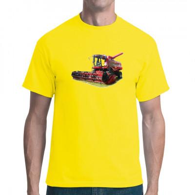 Cooler Mähdrescher für alle, die auf landwirtschaftliches Großgerät stehen. Das ideale Motiv für den modebewussten Landwirt.