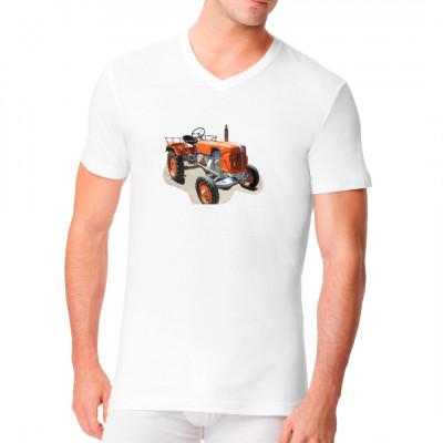 T-Shirt - Motiv: Traktor Güldner AKZ 12PS - Kleinschlepper