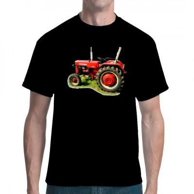 T-Shirt - Motiv: Traktor McCormick Oldtimer Für Fans von Traktoren, Schleppern, Landmaschinen.