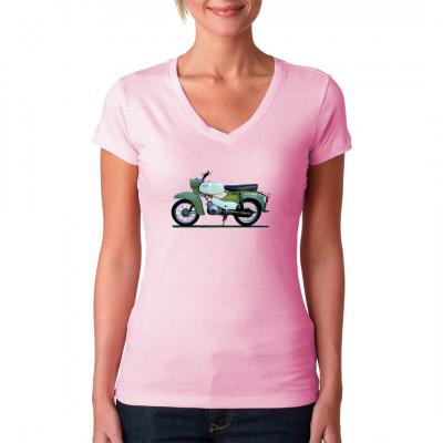 Motiv: Simson Habicht SR4-4, Fahrzeuge, Bikes / Fahrrad, Deutschland / DDR, Oldtimer, DDR Motive, Ostalgie