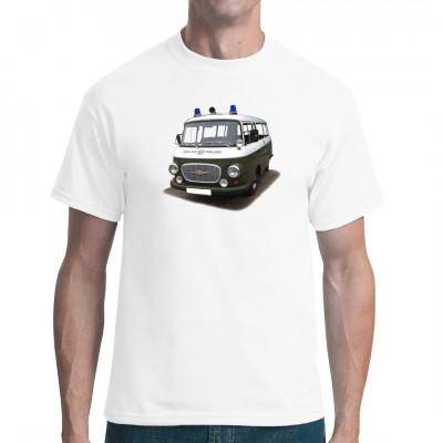 Motiv: Barkas Volkspolizei Kleintransporter, Fahrzeuge, Autos, Deutschland / DDR, Oldtimer, Nutzfahrzeuge, DDR Motive, Ostalgie