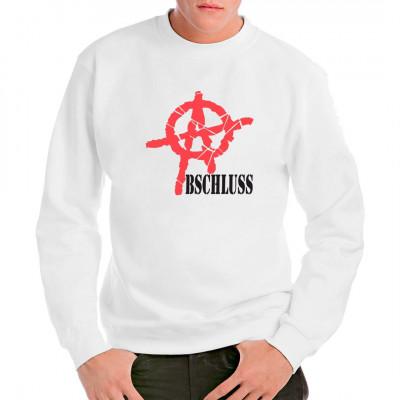 Cooles Anarchie - Shirt für alle, die ihren Abschluss endlich geschafft haben.