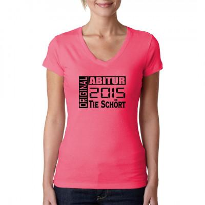Ihr habt euer Abitur erfolgreich hinter euch gebracht? Zeigt es der Welt mit diesem Shirt. Gebt bitte die gewünschte Jahreszahl mit an.
