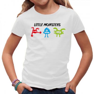 Little Monsters  Hans, Paul und Walter oder Emma, Paula und Mia - Wie auch immer ihr eure neuen Freunde nennen wollt. Dieses Shirt ist sicher durch seine Farben allein ein Hingucker.