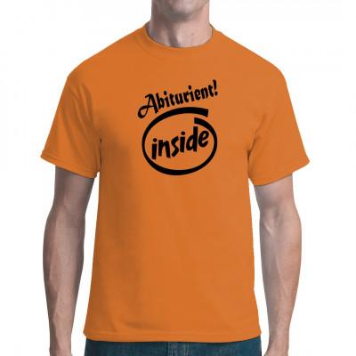 Abitur in der Tasche? Dann zeig es auf deinem neuen Shirt.
