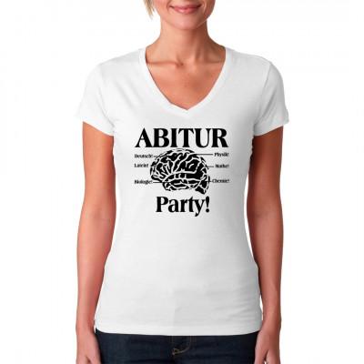 Zum Abi ist Synapsenfasching angesagt, Party auf 6 Floors. Bist auch du bei der Fete des Jahres dabei? Dann zeig es mit diesem tollen Shirt.