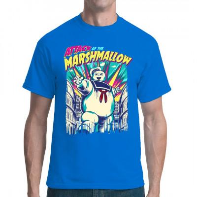 Hol dir dieses coole Shirt, wenn du nicht lange überlegen musst, was die Verbindung zwischen grauen Overalls, bissigem Humor und hundeartigen Dämonen ist.
