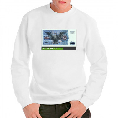 T-Shirt 100 DM Schein  , Neu im Shop, Lustig & Fun, Aktuelle, Sonstiges