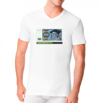 100 DM Schein T-Shirt, Neu im Shop, Lustig & Fun, Männer & Frauen, Aktuelle, Sonstiges