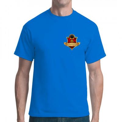 Bist du ein echtes Ostprodukt und stolz darauf? Dann hol dir dieses tolle Wappen als Brustlogo. Das ideale Geschenk für jeden gelernten DDR Bürger.