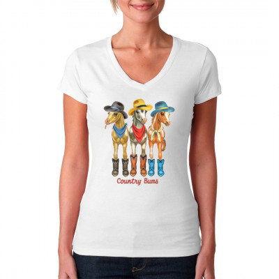 Motiv: Country Pferde  Cooles Kinder Motiv mit drei kleinen Country Pferdchen.