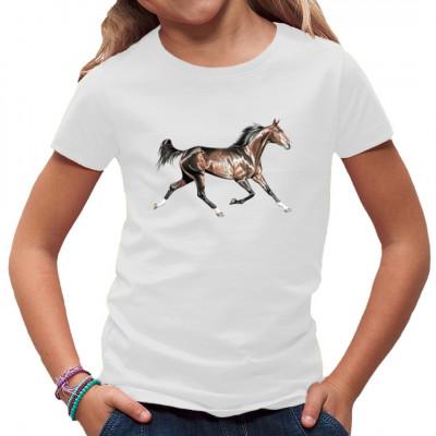 Das Glück dieser Erde liegt auf dem Rücken der Pferde - gönnen Sie sich etwas Glück mit diesem tollen Pferdemotiv!