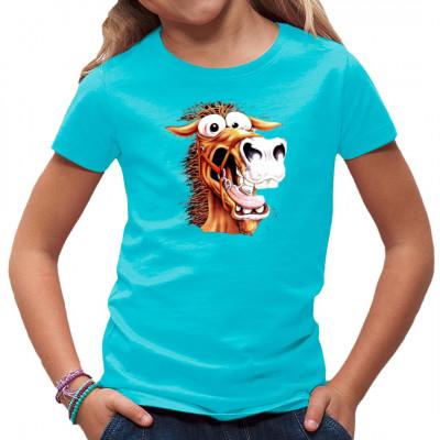 Fun Shirt: Crazy Horse - verrücktes Pferd, Comics, Lustig & Fun, Tiere & Natur, PFERDE, Pferde, Pferde