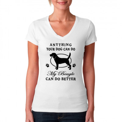 Anything your dog can do Beagle, Tiere, X - XXL Motive, Tiere & Natur, Hunde, Hunde