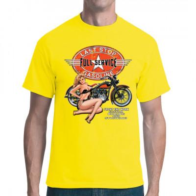Full Service - Pin-Up mit Bike, Männer & Frauen, Biker, Pin Ups, Pin Ups