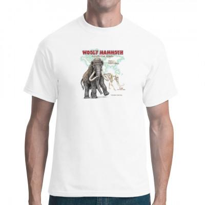 Das Pleistozän mag lange her sein, doch es fasziniert noch heute. Für alle Hobby-Paläontologen unter euch: Zeig eure Liebe für Urviecher mit diesem tollen Mammut-Shirt.  Vorsicht vor den Stoßzähnen...