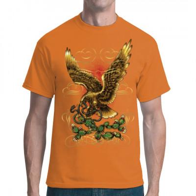 Mexican Eagle, Tattoo Style, Tiere & Natur, Männer & Frauen, Biker, Adler, Tiere & Natur