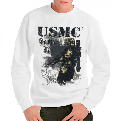 T-Shirt - Motiv: USMC - Semper Fi!