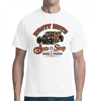 Hot Rod: Rusty Nuts Auto Shop - Used Parts, Fahrzeuge, Autos, X - XXL Motive, Oldtimer, Hot Rods, Hot Rods