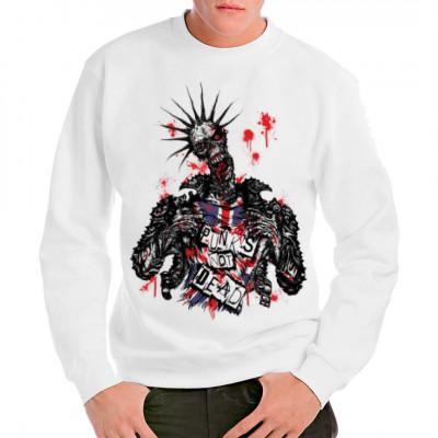 Zombie: Punk's not dead!, Allgemein, Religion & Politik, Totenköpfe & Gothic, Fashion / Mode, Musik & Film, Gothic, Fantasy und Schädel