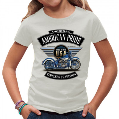 T-Shirt - Motiv: Original American Pride - Timeless Tradition USA