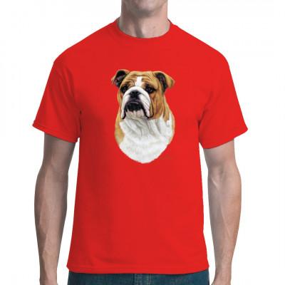 Hunde T-Shirt: Bulldogge, Tiere & Natur, Hunde, Hunde