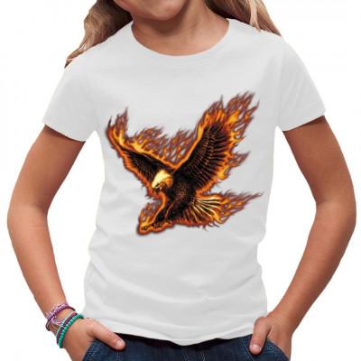 Flaming Eagle USA, Tiere & Natur, Männer & Frauen, Biker, Biker, Adler