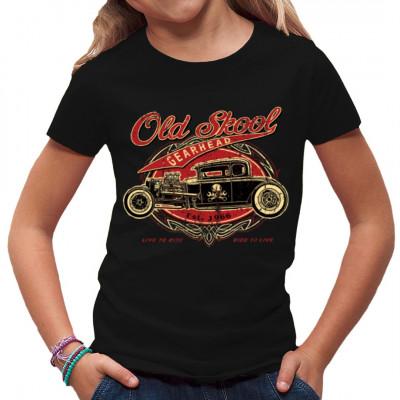 Hot Rod: Old Skool Gearhead, Fahrzeuge, Autos, Oldtimer, Männer & Frauen, Biker, Hot Rods, Hot Rods