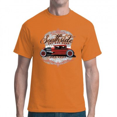 Cooles Hot Rod Motiv