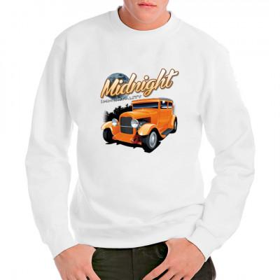 Shirt Motiv Hot Rod Midnight Immortality  Sehr schönes klassiker Hot Rod Motiv mittels Transfer Siebdruckverfahren aufgebracht. waschfest