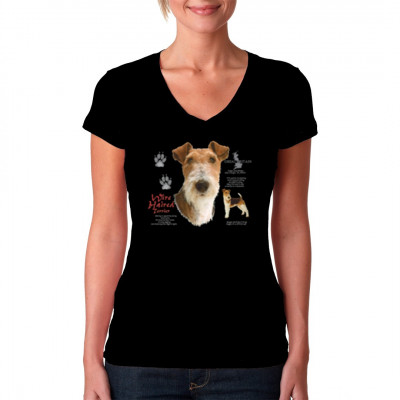 Hunde Shirt: Drahthaarterrier, Wire Haired Terrier, MOTIVE P - Z, Tiere, Tiere & Natur, Hunde, Hunde