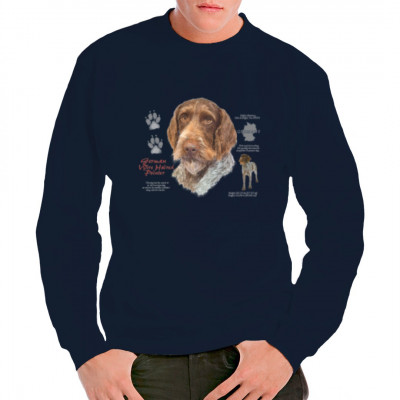 Shirt Motiv: Deutscher Drahthaar, German Wire Haired Pointer, MOTIVE P - Z, Tiere, Tiere & Natur, Hunde, Hunde