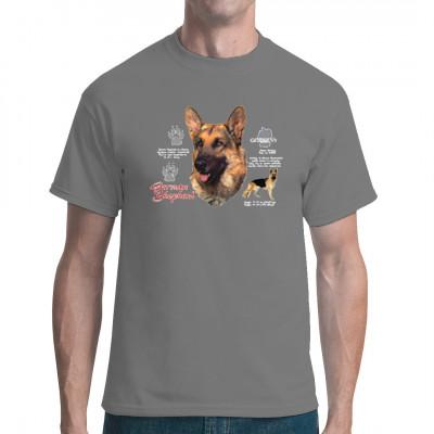 Shirt Motiv: Deutscher Schäferhund, MOTIVE P - Z, Tiere, Tiere & Natur, Hunde, Hunde
